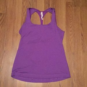 Fitted athletic tank top